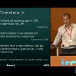Ομιλία με θέμα την ενδομητρίωση στο ινστιτούτο IRCAD, Στρασβούργο